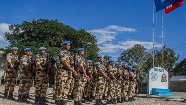 22 juin 2005: vote du Conseil de Sécurité des Nations Unies renforçant l'effectif de la MINUSTAH en Haïti