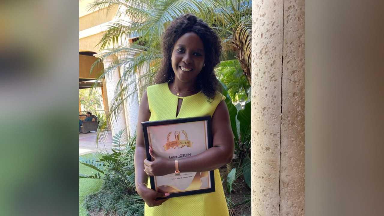Lunie Joseph, promue Directrice Générale de Radio Zénith