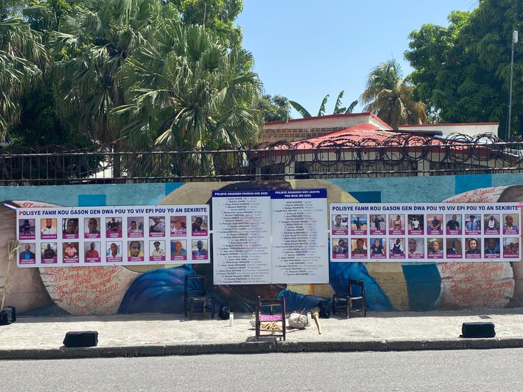 26ème anniversaire de la PNH : le RNDDH rend hommage aux policiers victimes