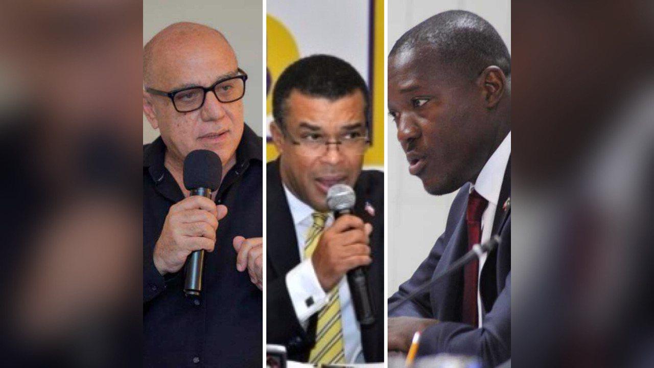 Cinq parties de l'opposition se réfèrent à l'OEA, l'UE et la mobilisation pour faire échec au référendum