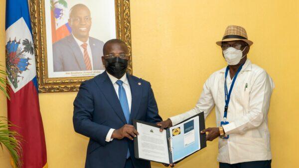 La CNDDR a remis au PM Claude Joseph un document stratégique sur la sécurité