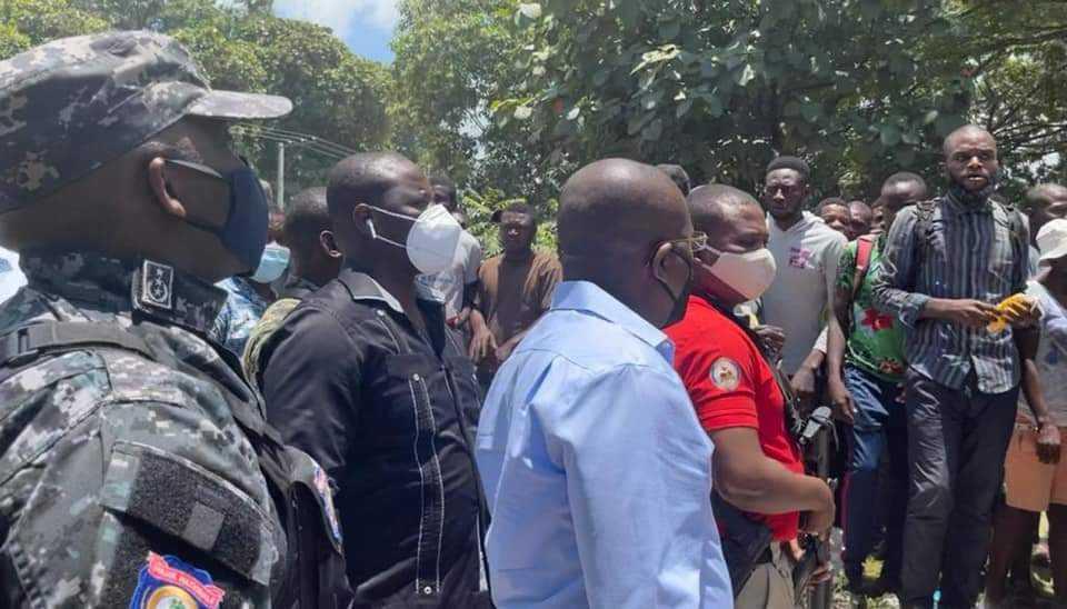 Affrontements à Martissant: Claude Joseph annonce le retour au calme