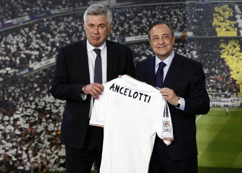 Carlo Ancelotti est le nouvel entraîneur du Real Madrid pour la saison 2021-2022