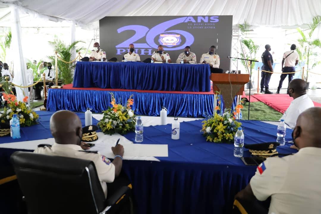 26 ans de la PNH, l'exécutif adresse des mots d'encouragement aux policiers