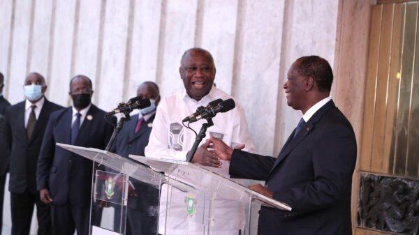 Côte d'Ivoire: rencontre historique entre Alassane Ouattara et Laurent Gbagbo
