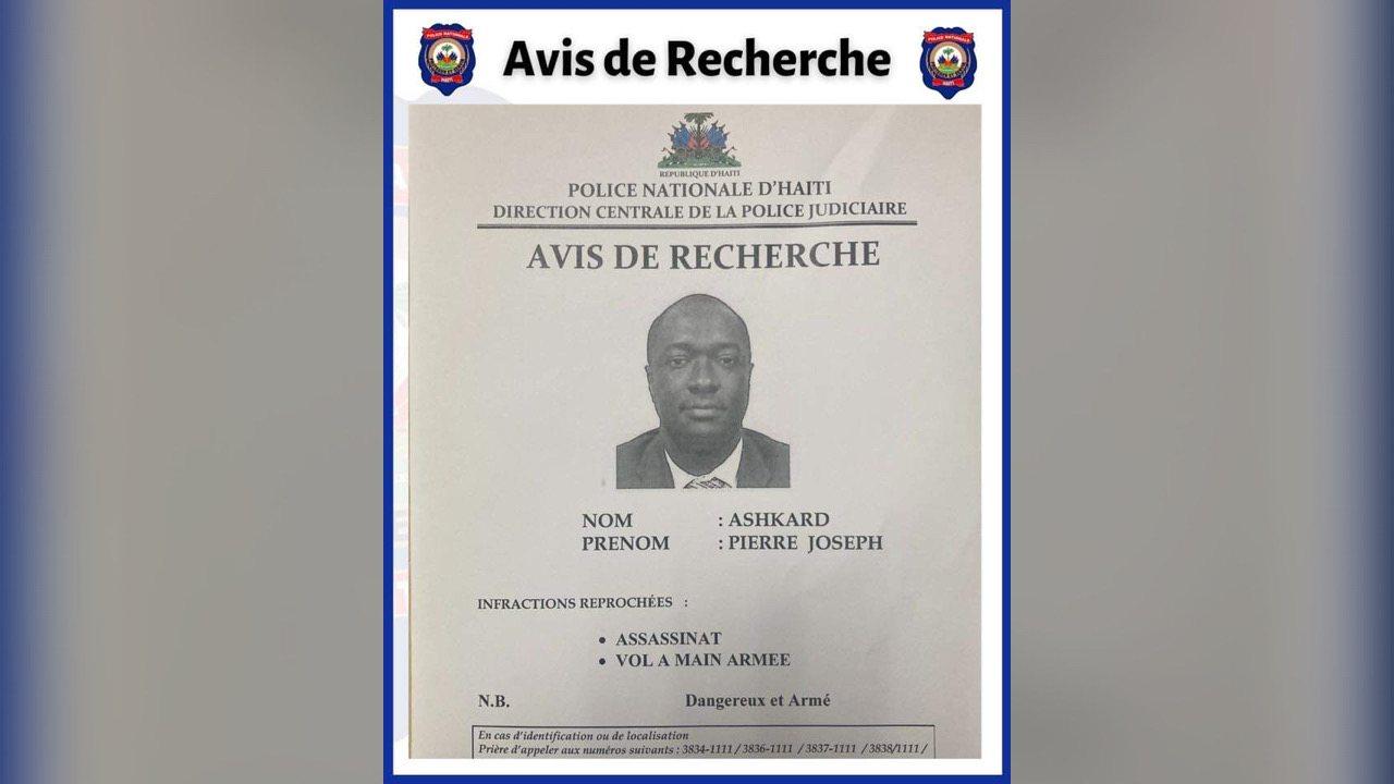 Assassinat de Jovenel Moïse: mandat d'amener contre Joseph Ashkard Pierre