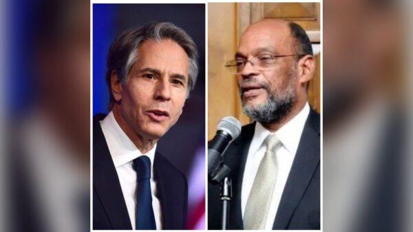 Premier entretien téléphonique entre le PM Ariel Henry et Antony Blinken