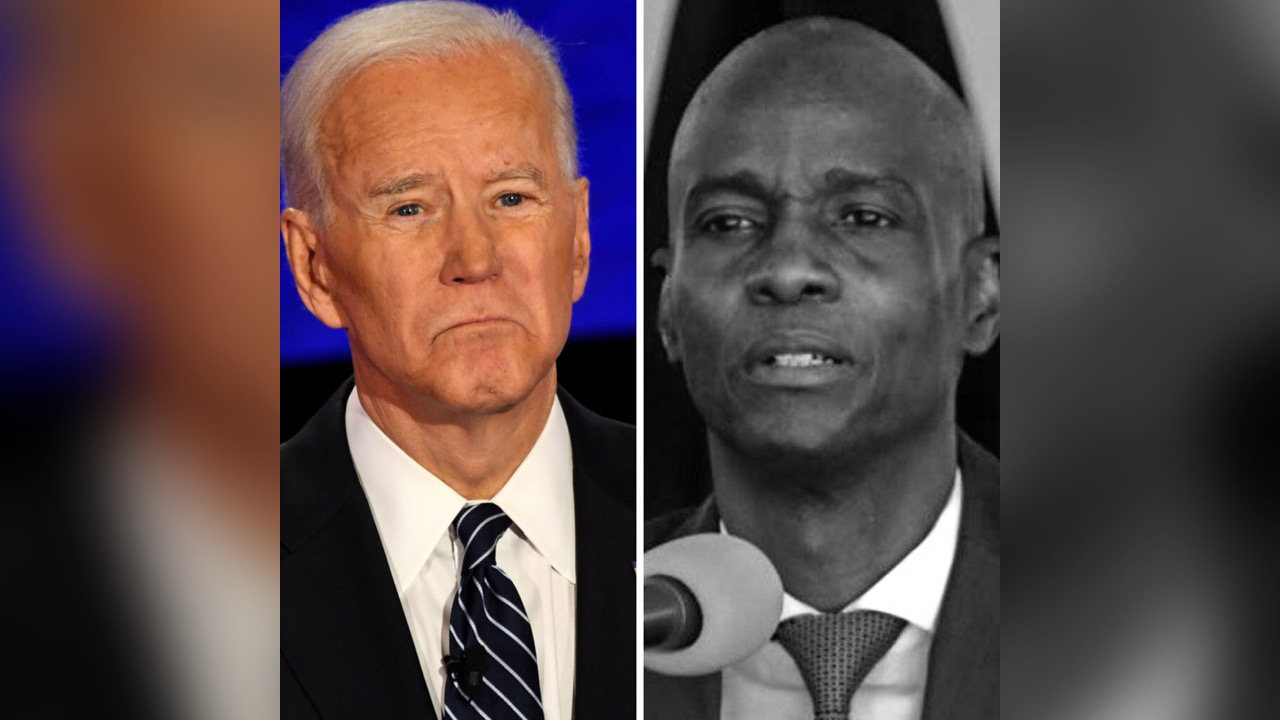 Joe Biden et d'autres chefs d'État condamnent l'assassinat du président Jovenel Moïse