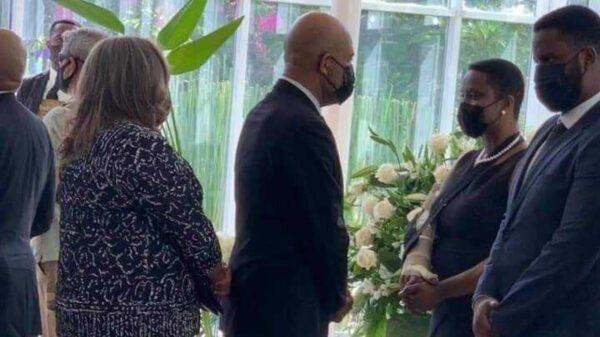 Cérémonie de salutation à la famille présidentielle au MUPANAH