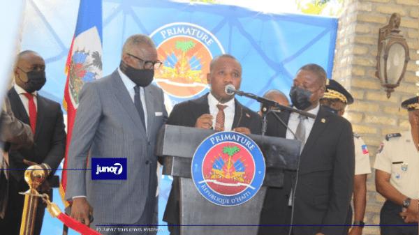 Fusillade à Delmas 32 et Christ-Roi: le PM Claude Joseph, en larmes, s'est souvenu des victimes