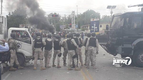 Haiti - Etat de siège : la PNH rappelle que toute manifestation est interdite sur la voie publique