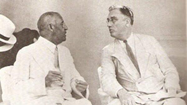 5 Juillet 1934: visite du président américain Franklin Delano Roosevelt au Cap-Haitien