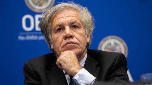 Le secrétaire général de l'OEA Luis Almagro testé positif au coronavirus
