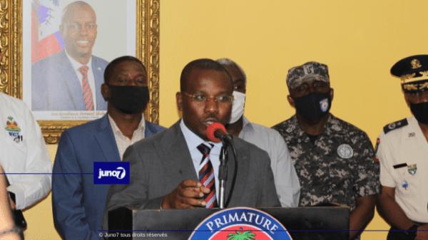 """Haïti: """"Justice sera rendue au président Jovenel Moïse et à sa famille"""",garantit Claude Joseph"""