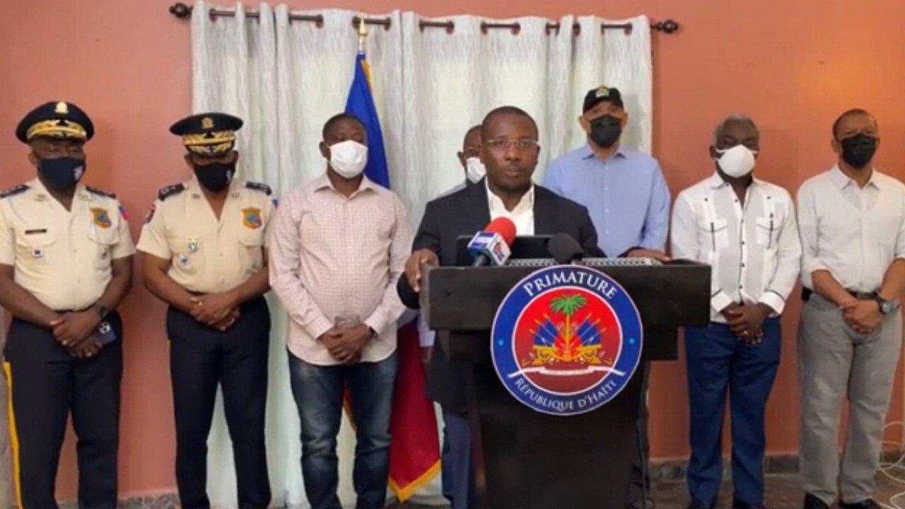 Assassinat de Jovenel Moïse: le pays est en état de siège selon Claude Joseph