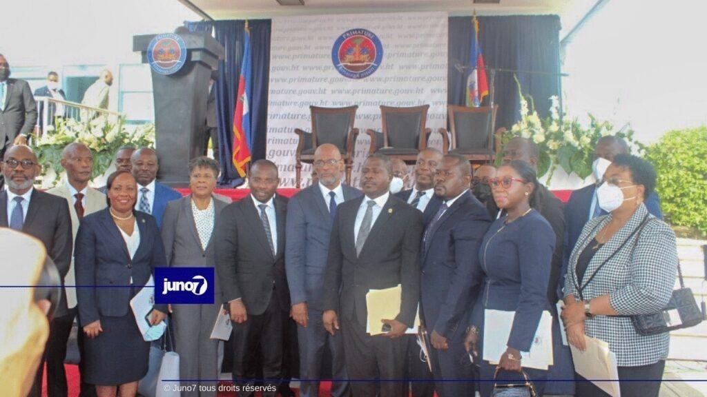 Ariel Henry - L'OIF salue la formation du gouvernement Haïtien et réitère son appel à un dialogue inclusif