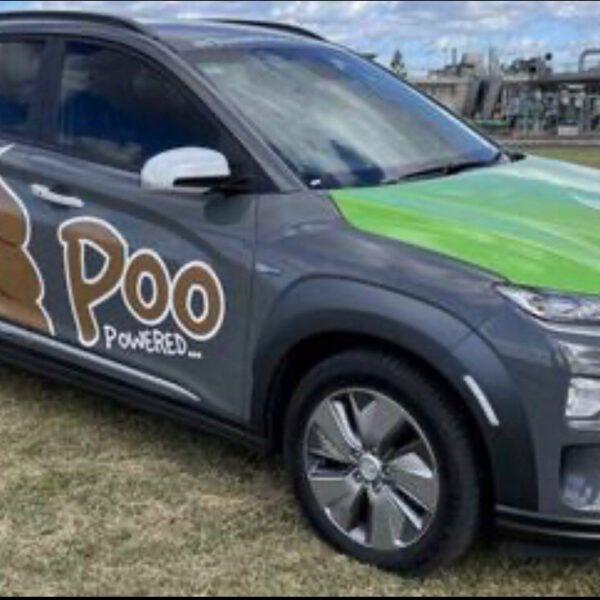 S-Poo-V, yon machin elektrik ki mache ak kaka moun