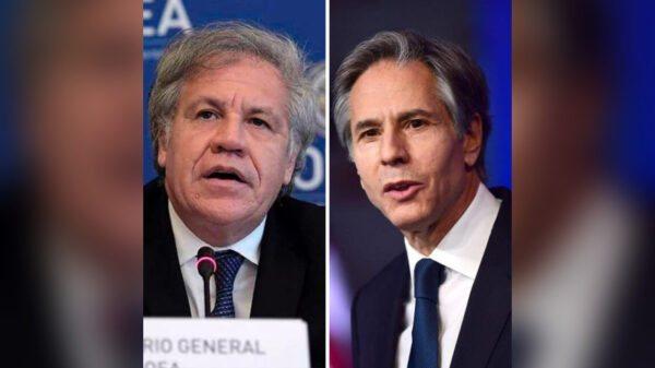 Luis Almagro et Antony Blinken parlent de sécurité et de gouvernance démocratique concernant Haiti