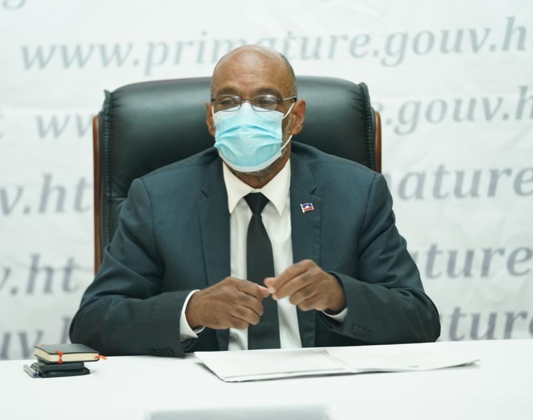 Ariel Henry rencontre des représentants de partis politiques pour discuter de la situation post- séisme