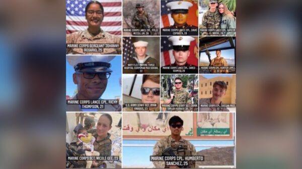 Afganistan: Otorite yo bay non 13 solda ameriken ki te mouri nan atanta ayewopò kaboul la
