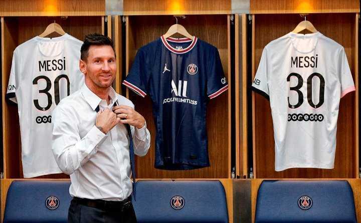 PSG : le maillot de Lionel Messi déjà en rupture de stock