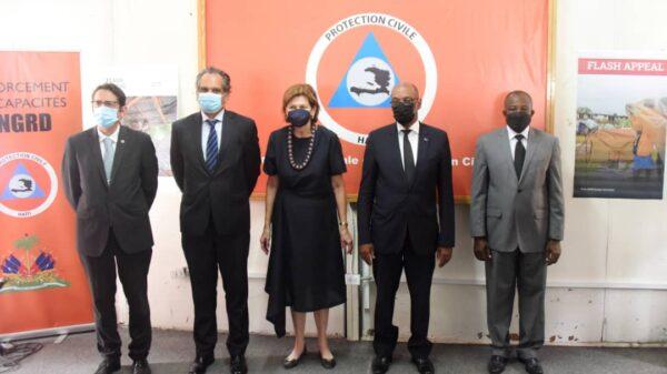 Séisme: lancement du programme d'alerte d'urgence par le PM Ariel Henry