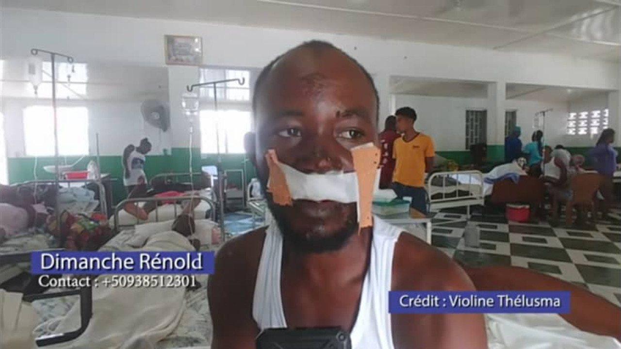 Séisme: Dimanche Renol, le Héros qui a sauvé 13 personnes a besoin de votre aide