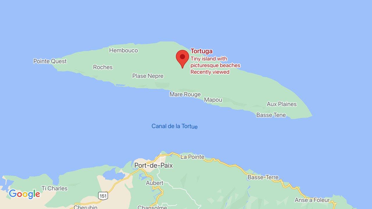 19 août 2020: un naufrage à l'île de la Tortue a fait plus de 17 morts