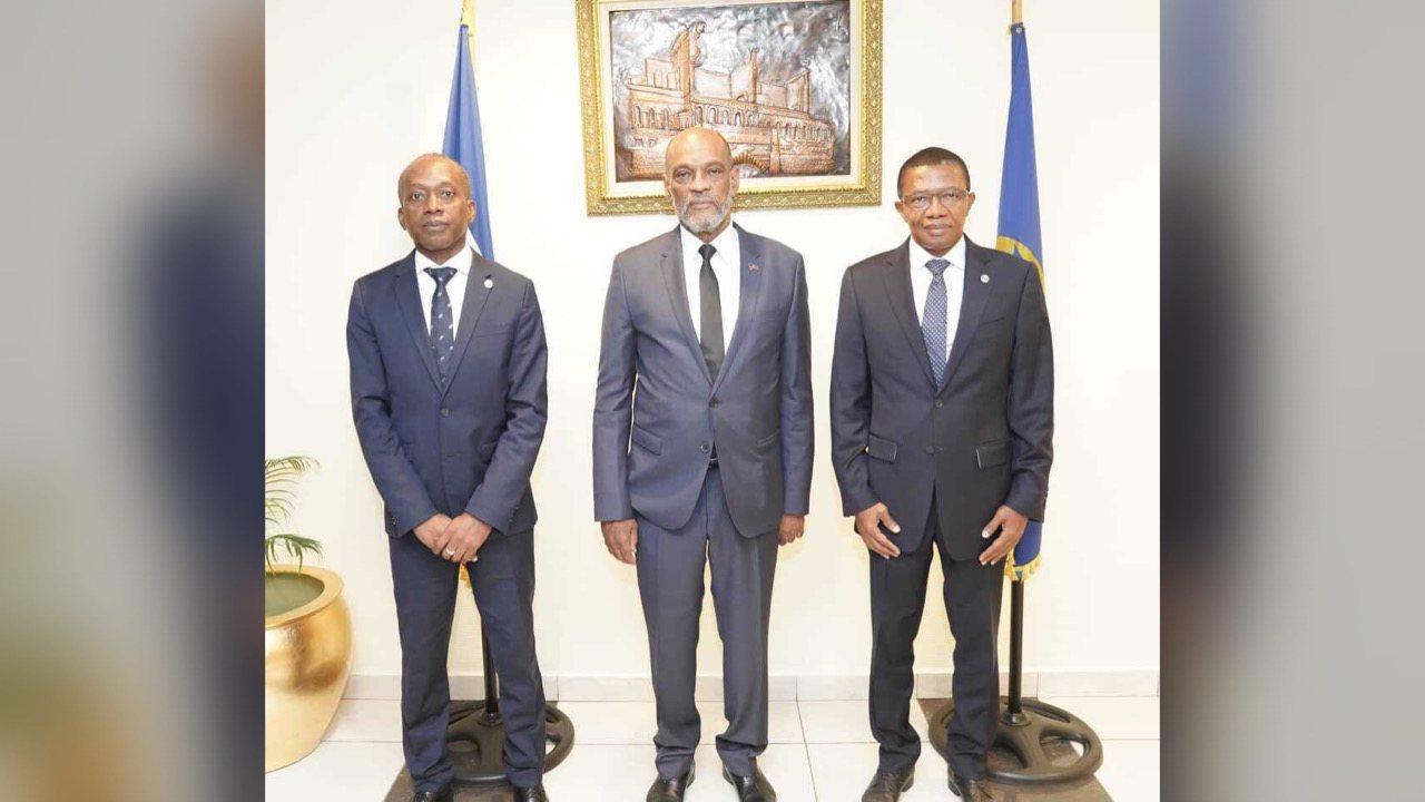 Ariel Henry a rencontré les membres du conseil d'administration de la BRH
