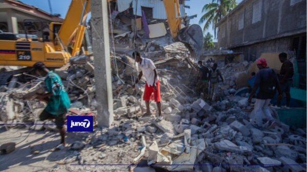Séisme du 14 août: l'archidiocèse de Port-au-Prince vient en aide aux victimes
