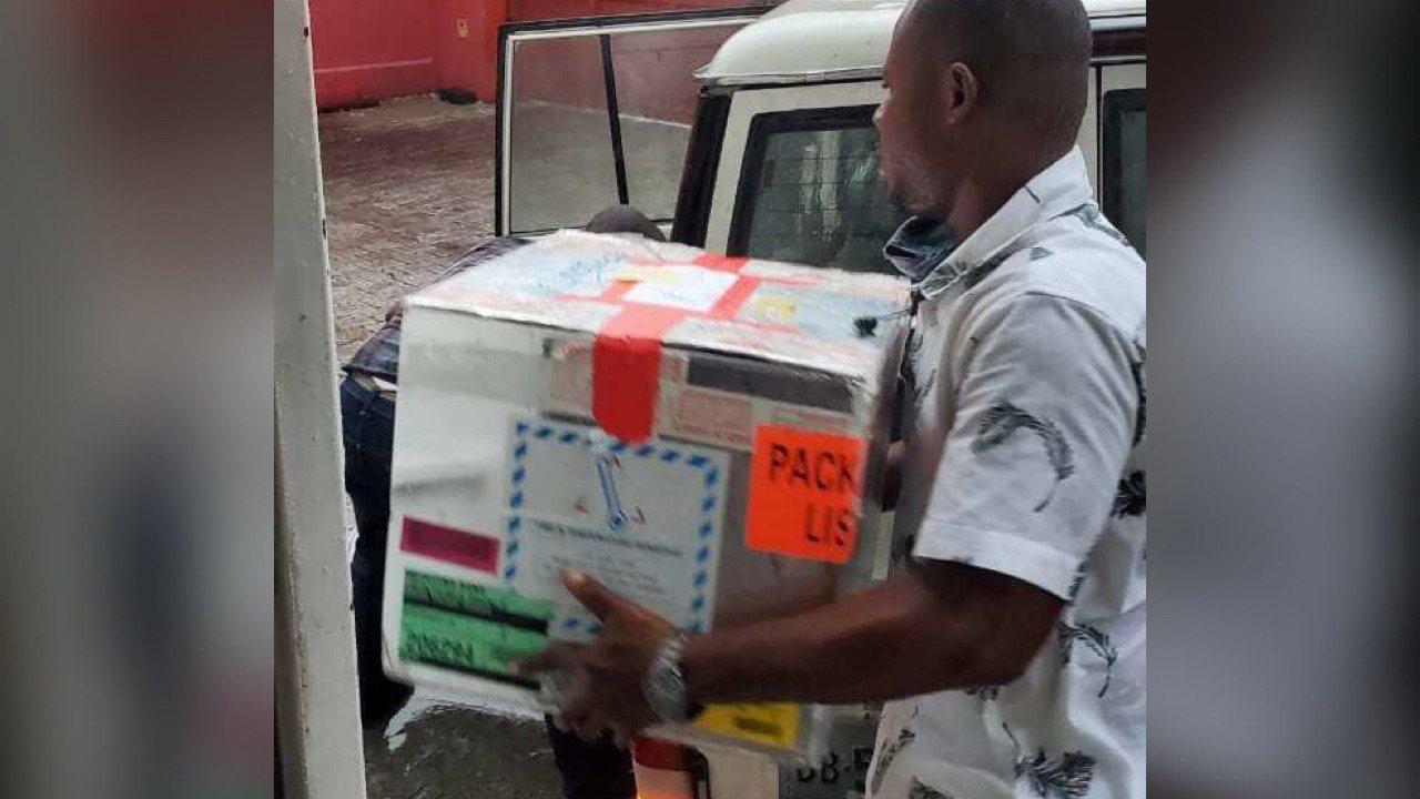 Avec l'appui de la Digicel, le PTS des Cayes est alimenté en pochettes de sang et matériels médicaux