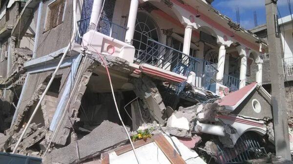 Haiti - SDP- Tremblement de terre du 14 août: des morts dont un bébé , des blessés et des dégâts enregistrés