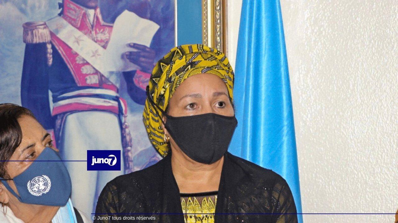 Séisme: la vice-secrétaire générale de l'ONU salue le leadership du gouvernement face aux défis