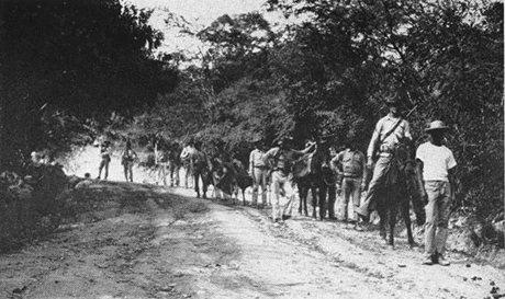 21 Août 1934: célébration officielle de la fin de l'occupation américaine