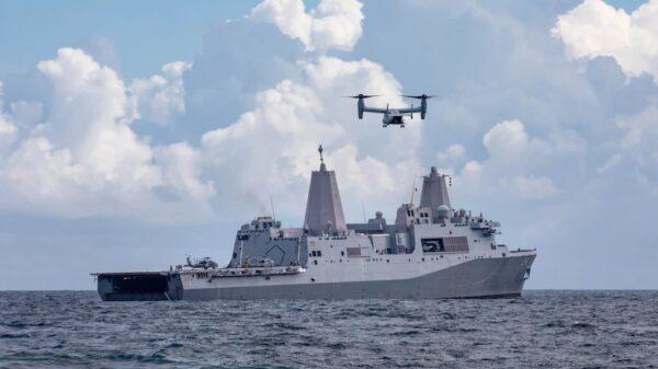 L'USS Arlington, un bateau de l'armée américaine, arrive en Haïti pour soutenir USAID
