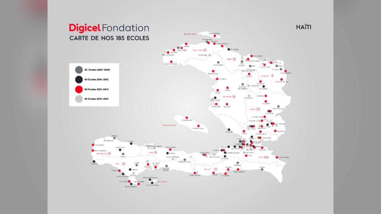 Séisme: la Fondation Digicel offre 1 million de dollars pour la reconstruction du secteur éducatif