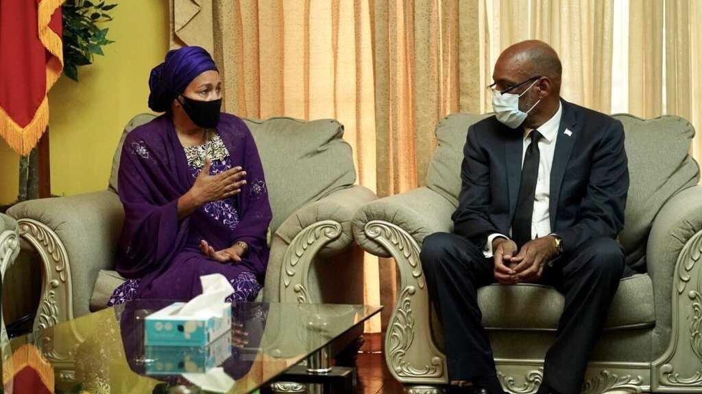 Séisme en Haïti: le PM Ariel Henry a rencontré la vice-secrétaire générale de l'ONU