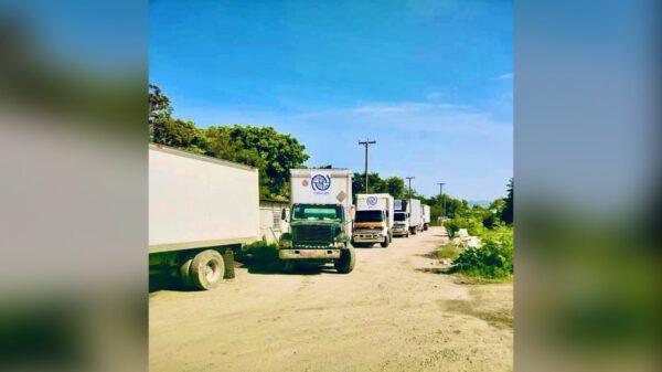 Ministè Kominikasyon anonse yon konvwa ki gen plis ke 10 kamyon pran direksyon Gran Sid la