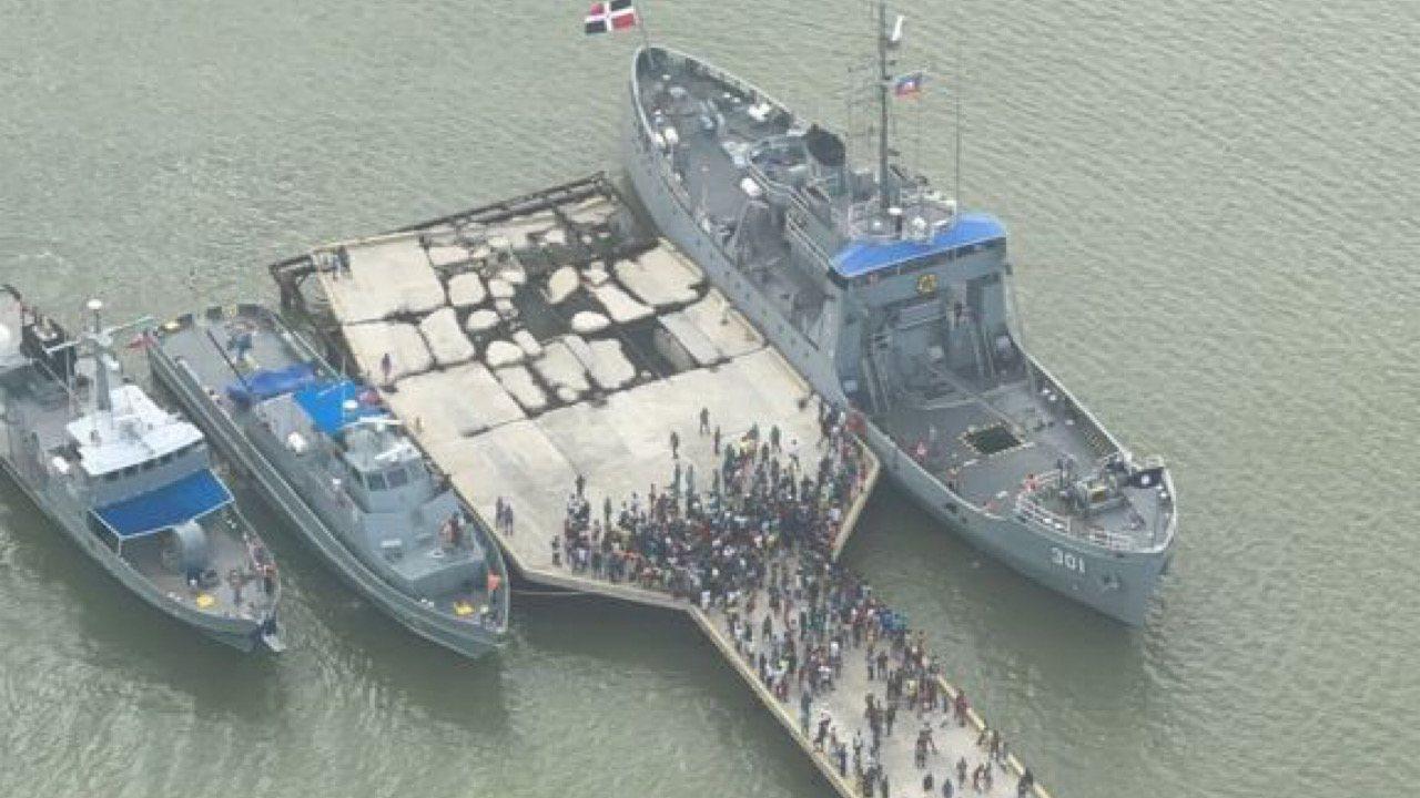 Séisme du 14 août: la République Dominicaine envoie trois navires avec des tonnes d'aide humanitaire à Haïti