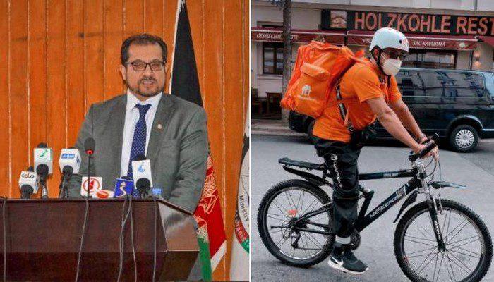 Yon ansyen minis afgan ap fè djòb livre manje sou bekàn an Almay