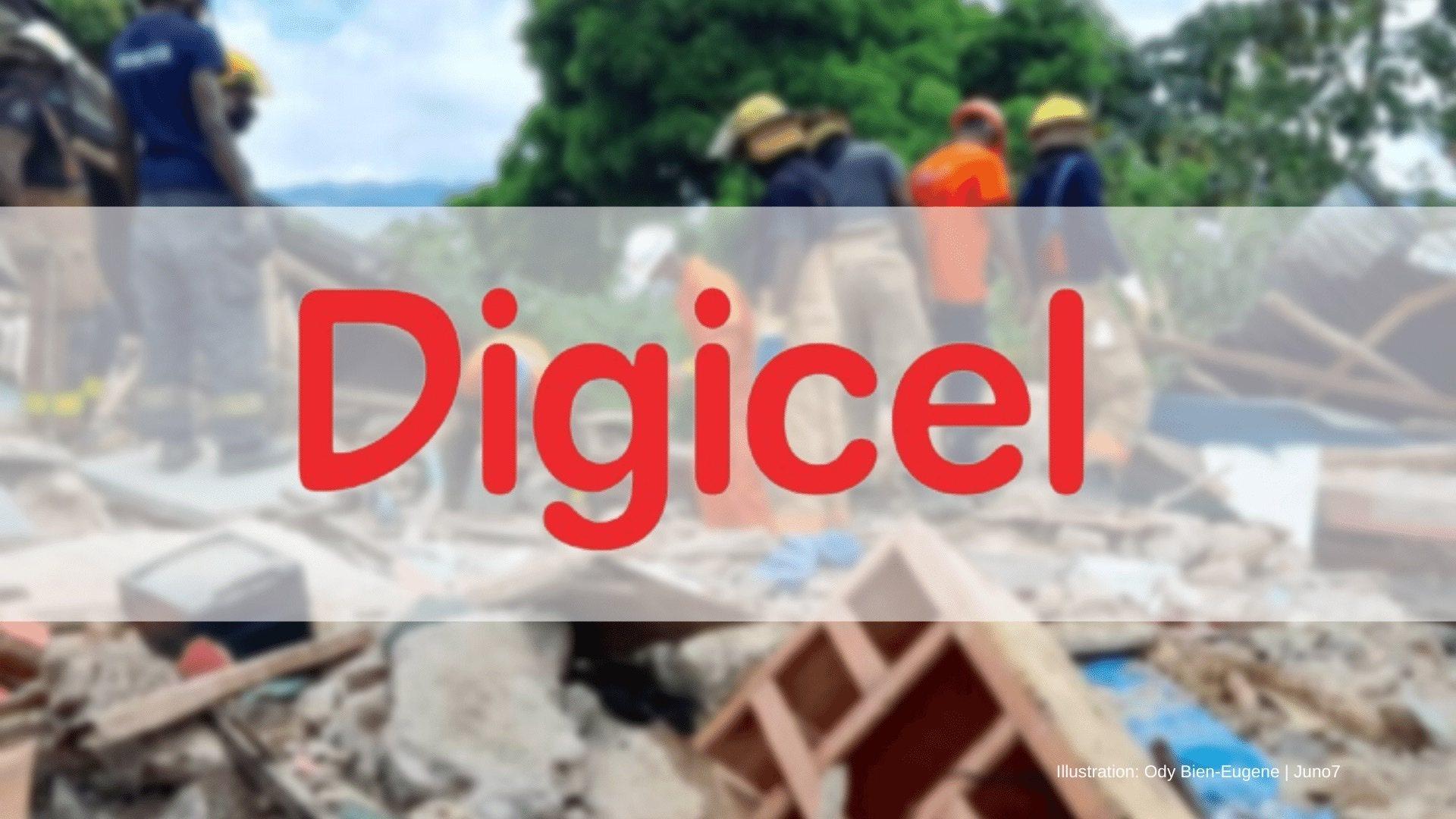 Séisme du 14 août: La Digicel vole au secours des victimes