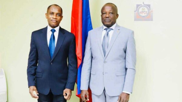 MPCE: Roméo Latry installé comme directeur du cabinet du ministre Simon Dieuseul Desras