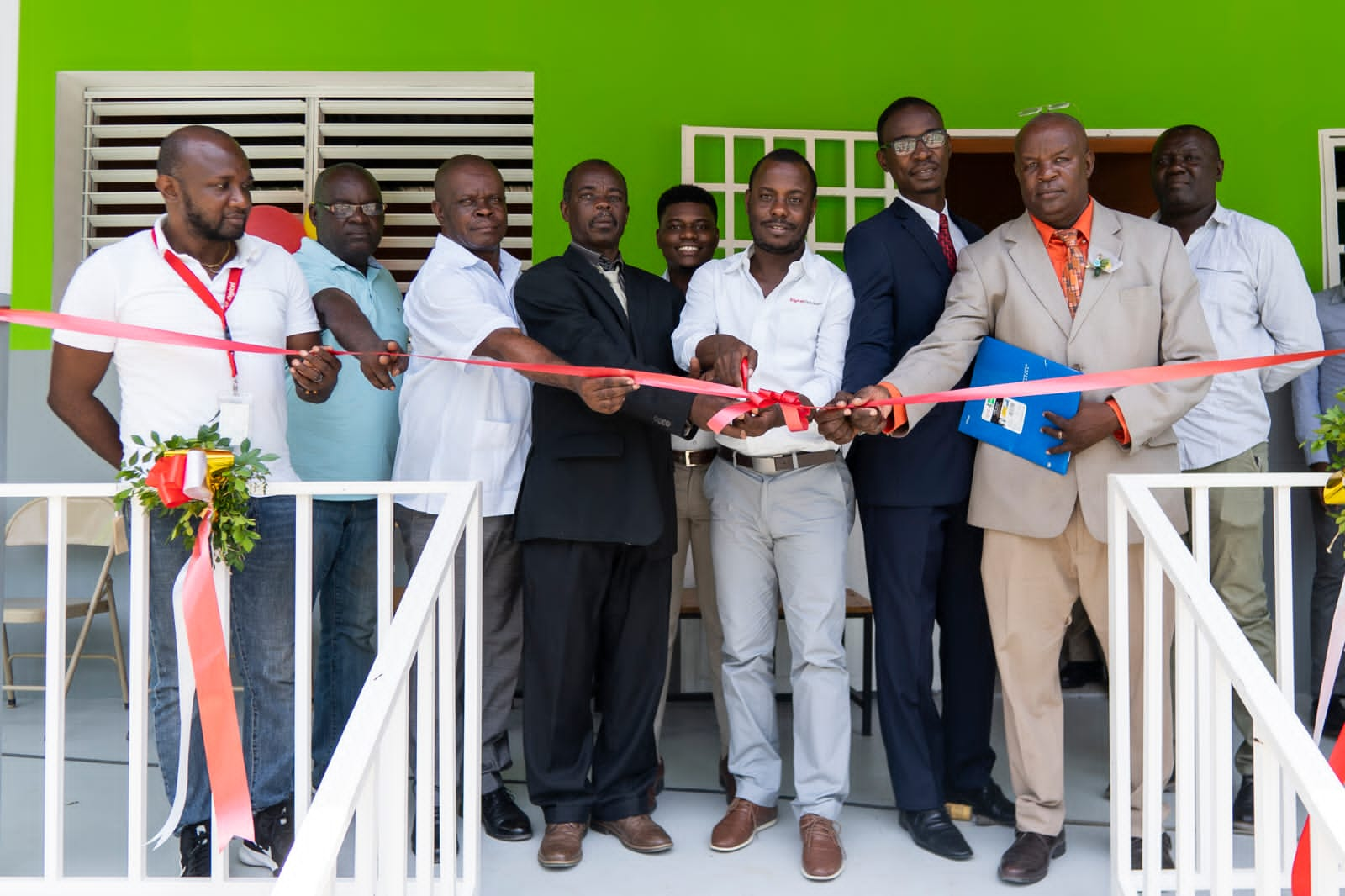 La fondation Digicel inaugure son 186ème établissement scolaire