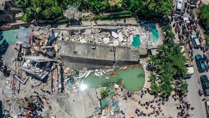 Séisme du 14 août: le bilan passe à 724 morts et 2800 blessés selon la protection civile