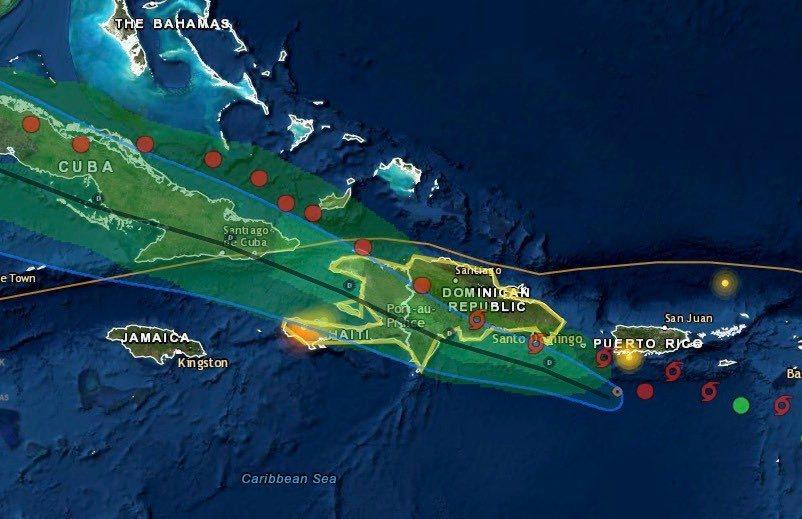 La tempête tropicale Grace s'approche d'Haïti : Le pays est sous vigilance jaune