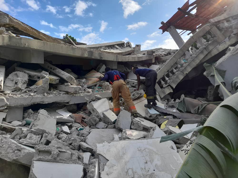 Séisme du 14 août: 1297 morts et plus 5700 blessés selon un nouveau bilan officiel