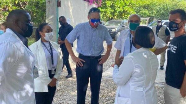 En visite en Haïti, Daniel Foote a rencontré des acteurs haïtiens