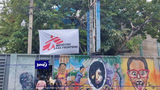 Le MSF relocalise son centre d'urgence à l'avenue Charles Summer