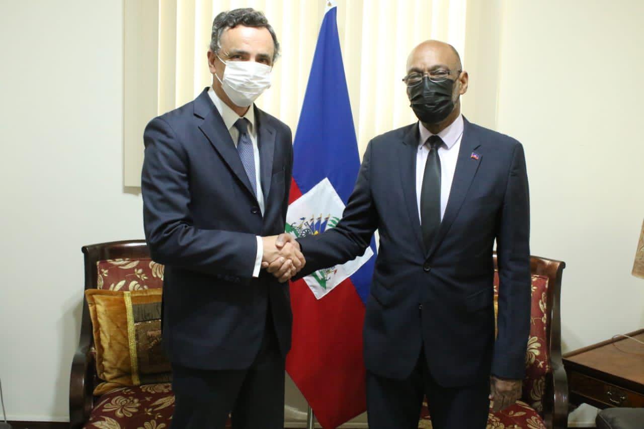 Séisme: Haïti reçoit l'aide de l'Espagne, son ambassadeur en fin de mission dans le pays