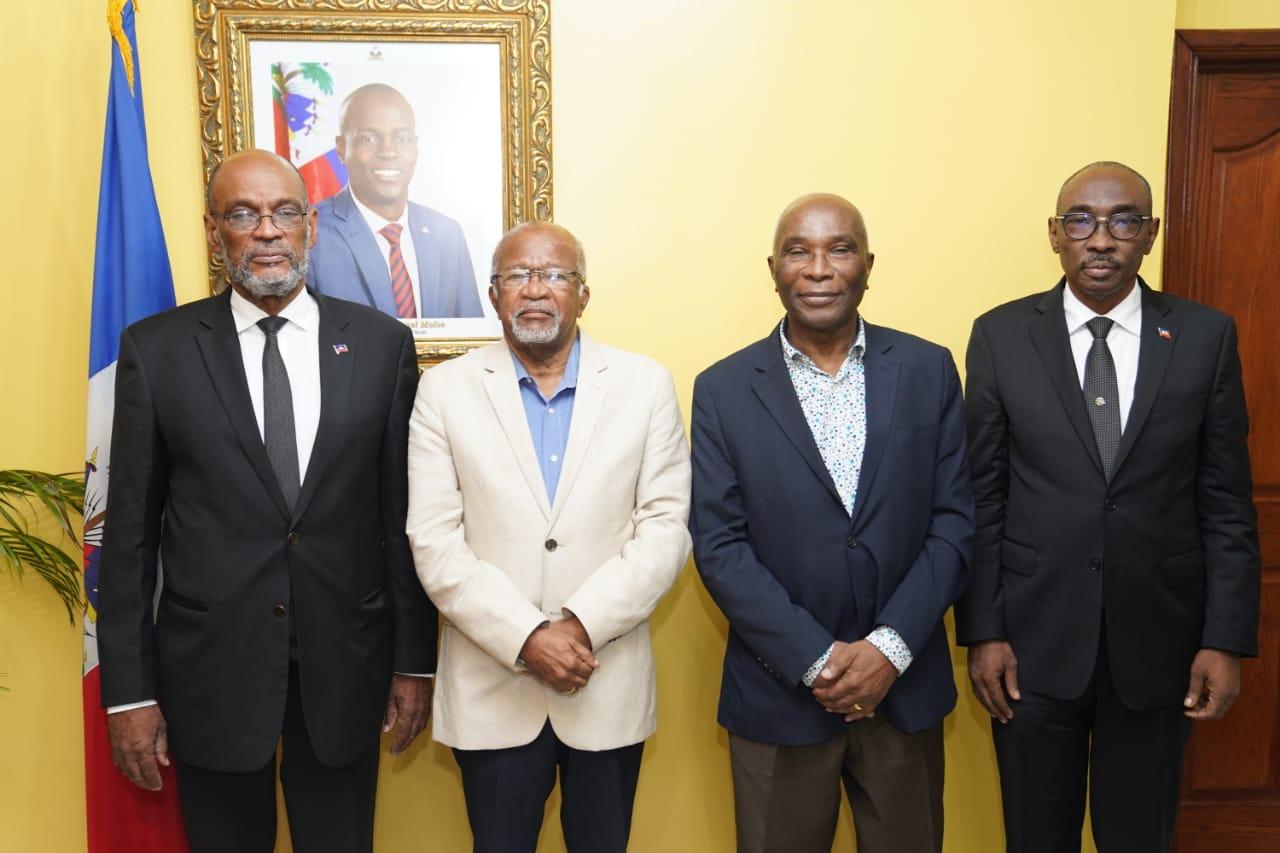 Ariel Henry lance le forum des anciens premiers ministres
